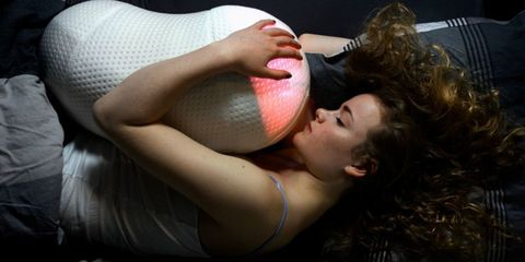 Elbow, Joint, Chest, Trunk, Muscle, Ball, Abdomen, Stomach, Undergarment, Ball,