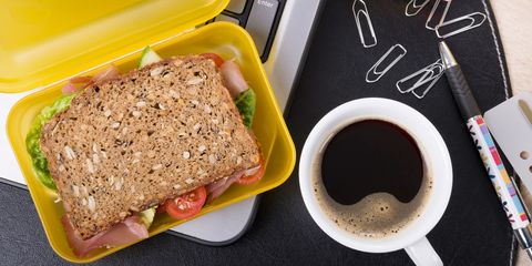 Do you eat the same lunch every day?