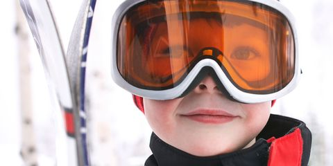 c4b9b3b7ccf How to protect children s eyes in the snow and sun