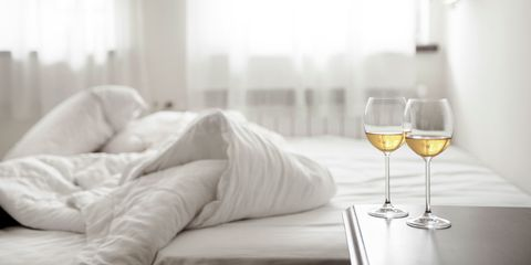 wine bed
