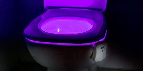 Auraglow light up loo