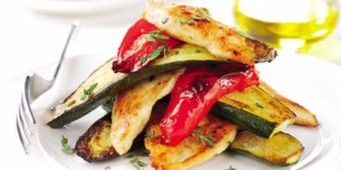 Chicken and roasted veg