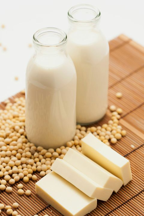 """<p>Not every ingredient in a natural food product may be good for you. Case in point: Carrageenan, a gum derived from seaweed and used as a stabilizer in organic and natural foods like soy milk, lowfat yogurt, salad dressing, or ice cream, can cause a host of gut issues, says Lieberman. <a href=""""http://www.cornucopia.org/carrageenan-2013/"""" data-tracking-id=""""recirc-text-link"""" target=""""_blank"""">Research even suggests</a> that the additive may cause inflammation, which can lead to ulcerations and inflammatory bowel disease (IBS). </p><p>This isn't to say you should skip dairy completely, though. """"In fact, organic low-fat yogurt has beneficial effects on your gut by improving the natural flora (good bacteria) in your GI tract,"""" says Lieberman. She recommends sticking to one cup per day, but if you're experiencing GI issues after eating dairy, try one cup of lactose-free, low-fat milk instead. And be sure to check that carrageenan doesn't appear on the ingredient list—you should only see """"low-fat milk"""" and cultures—and avoid the fruit-flavored kinds with added sugars.</p>"""