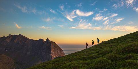 Nordic, Scandanavian, mountain walking