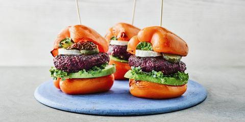 Pepper burgers