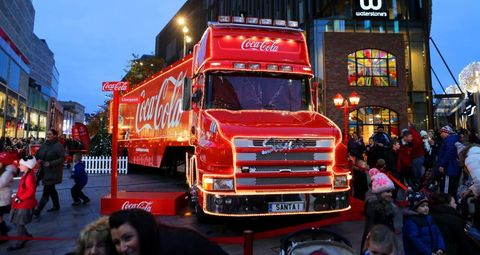 Transport, Vehicle, Motor vehicle, Mode of transport, Truck, Car, Commercial vehicle, Cola, Coca-cola, Drink,