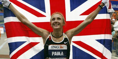 Paula Radcliffe Union Jack