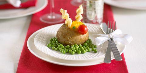 Rudolph baked potato