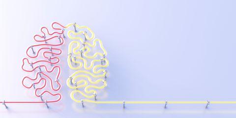 Light up brain