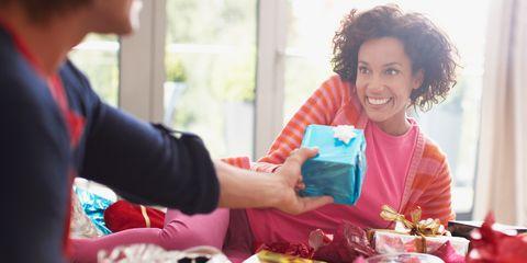 Gift giving Christmas