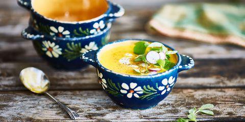 Soup pretty bowls
