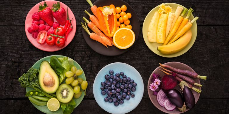 Vegetables Contain Calcium 7 non dairy foods you didnt know contained calcium bowls of fruit and vegetables colour co ordinated workwithnaturefo