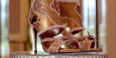 Footwear, Brown, Shoe, High heels, Sandal, Beige,