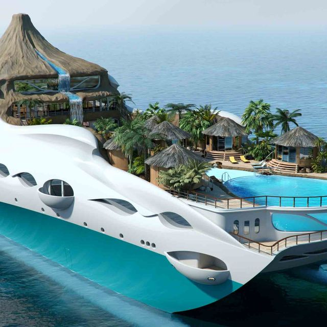 Body of water, Property, Water, Coastal and oceanic landforms, Architecture, Landscape, Aqua, Ocean, Azure, Island,