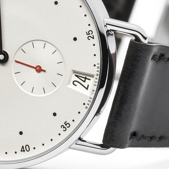 Product, Watch, Analog watch, Glass, Font, Watch accessory, Metal, Grey, Number, Clock,