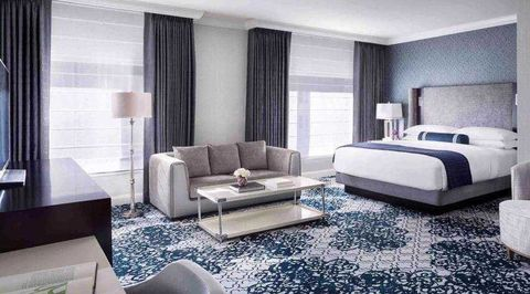 Interior design, Room, Floor, Bed, Property, Wall, Architecture, Textile, Flooring, Furniture,