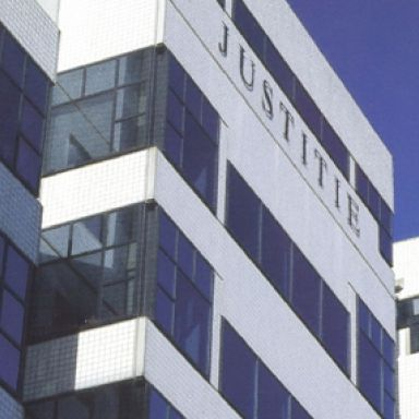 Facade, Commercial building, Building, Metropolitan area, Electric blue, Parallel, Material property, Tower block, Headquarters, Company,