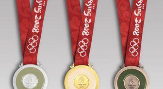 Text, Red, Font, Medal, Award, Circle, Metal, Material property, Gold medal, Symbol,