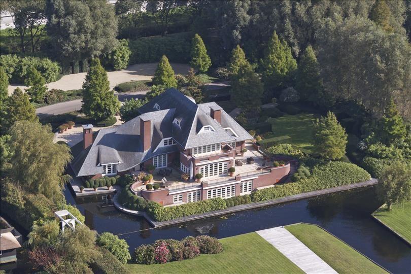 Waar Ligt Huizen : Top 10: duurste huizen van nederland in de verkoop