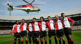 Helicopter, Mode of transport, Rotorcraft, Sports uniform, Product, Jersey, Aircraft, Helicopter rotor, Team, Soccer player,