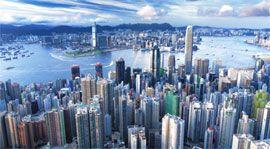 Nature, Metropolitan area, Blue, Daytime, Urban area, City, Natural environment, Atmosphere, Metropolis, Property,