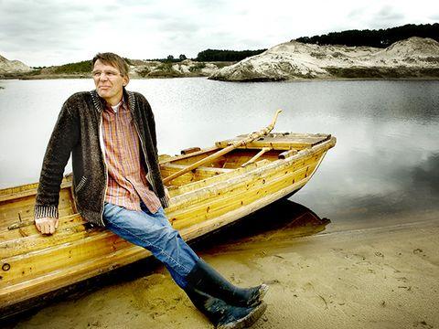Water transportation, Yellow, Vehicle, Boat, Wood, Photography, Boating, Landscape, Vacation, Lake,
