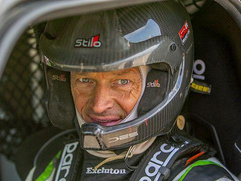 Helmet, Personal protective equipment, Motorcycle helmet, Vehicle, World rally championship, Headgear, Rallycross, Motorsport, Racing,
