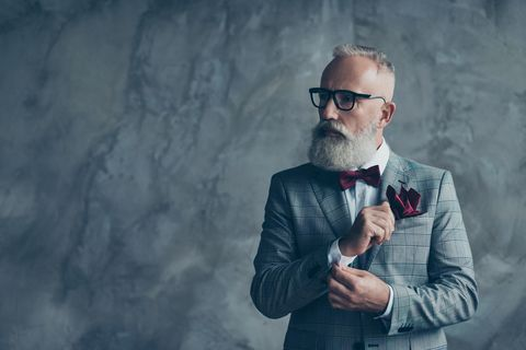 Beard, Facial hair, Glasses, Eyewear, Smoking, Cool, Photography, Suit, Vision care, Tie,