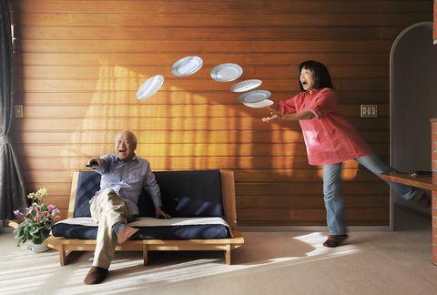 Ceiling, Lamp, Room, Furniture, Interior design, House,