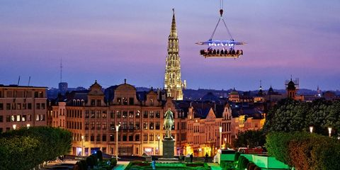 Landmark, Spire, City, Architecture, Human settlement, Town, Building, Sky, Steeple, Tower,