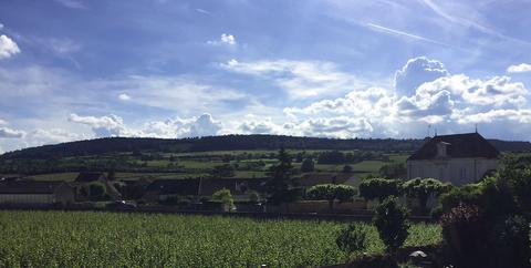 Sky, Cloud, Green, Natural landscape, Field, Rural area, Highland, Hill, Plain, Grass,