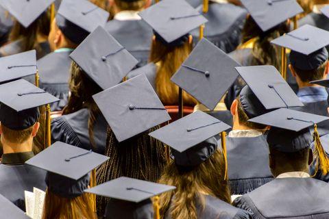 Graduation, Design, Academic dress, Headgear, Student, Event, Metal, Art,