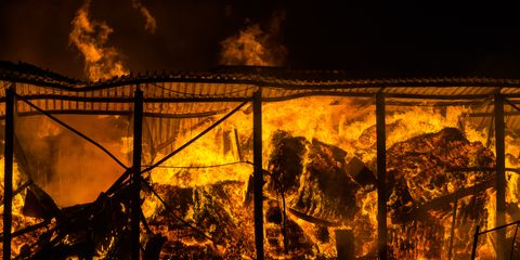 Flame, Heat, Fire, Sky, Smoke, Night, Wildfire,