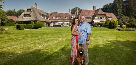 Photograph, Lawn, Property, Grass, House, Estate, Summer, Photography, Dress, Sporting Group,