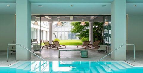 Property, Room, Interior design, Building, Living room, Furniture, Real estate, House, Floor, Ceiling,