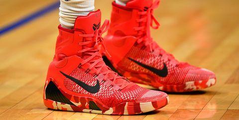 Shoe, Footwear, Red, White, Sneakers, Orange, Carmine, Basketball shoe, Pink, Walking shoe,