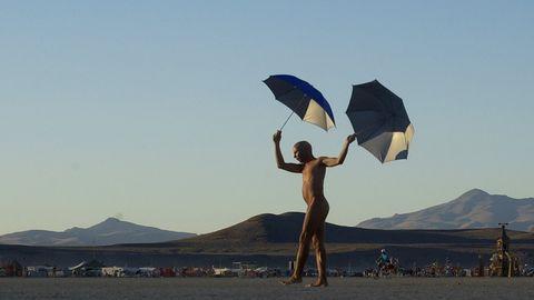 Umbrella, Sky, Beach, Vacation, Sea, Tourism, Sand, Fashion accessory, Travel, Wind,