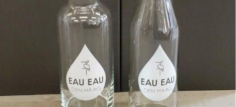Glass bottle, Bottle, Label, Water, Drink, Wine bottle, Drinkware, Glass, Packaging and labeling, Party favor,