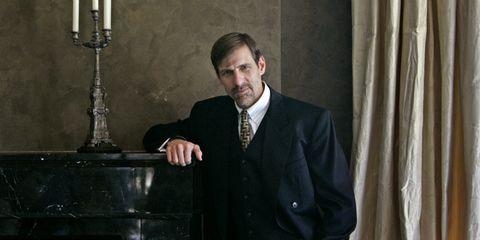 Suit, Tuxedo, Formal wear, White-collar worker, Speech, Public speaking, Official,