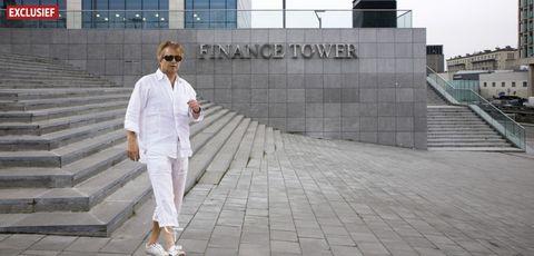 white, street fashion, fashion, suit, footwear, uniform, photography, shoe, white coat, walking,