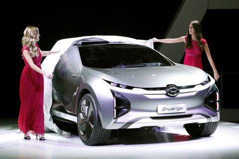 Land vehicle, Vehicle, Car, Auto show, Automotive design, Concept car, Mid-size car, Compact car, Toyota, Hatchback,