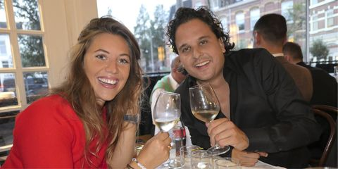 Wine glass, Stemware, Glass, Champagne stemware, Drink, Event, Alcoholic beverage, Drinkware, Wine tasting, Wine,