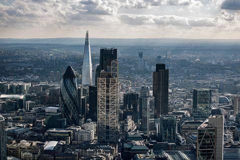 Metropolitan area, City, Cityscape, Urban area, Skyscraper, Metropolis, Skyline, Daytime, Tower block, Human settlement,