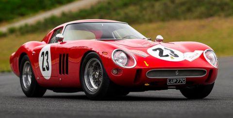 Land vehicle, Vehicle, Car, Sports car, Race car, Classic car, Coupé, Ferrari 250, Ferrari 275, Ferrari 250 gto,