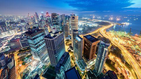 Cityscape, Metropolitan area, City, Urban area, Metropolis, Skyscraper, Human settlement, Skyline, Tower block, Landmark,
