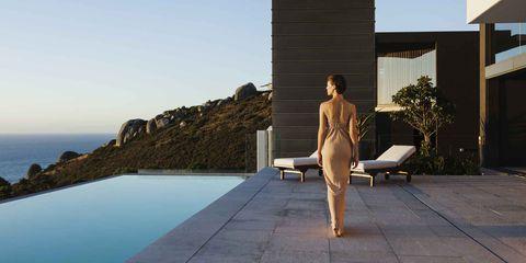 Leisure, Sitting, Summer, Leg, Vacation, Furniture, Swimming pool, Photography, Tourism,
