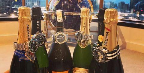 Drink, Champagne, Bottle, Alcoholic beverage, Wine, Alcohol, Liqueur, Wine bottle, Glass bottle, Distilled beverage,