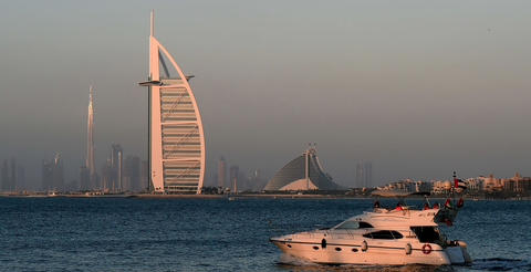 Water transportation, Boat, Sky, Landmark, Dhow, Vehicle, Sea, Yacht, City, Architecture,