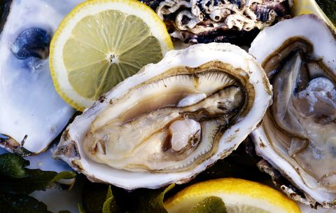 Oyster, Food, Seafood, Bivalve, Oysters rockefeller, Dish, Cuisine, Ingredient, Shellfish, Molluscs,