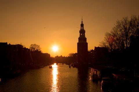 Sky, Water, River, Sunset, Waterway, Landmark, Reflection, Evening, Morning, Sunrise,